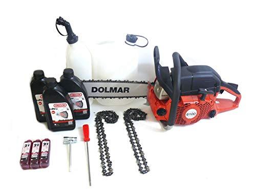 DOLMAR Motorsäge PS-6100 4,6 PS 45 cm Aktionspaket