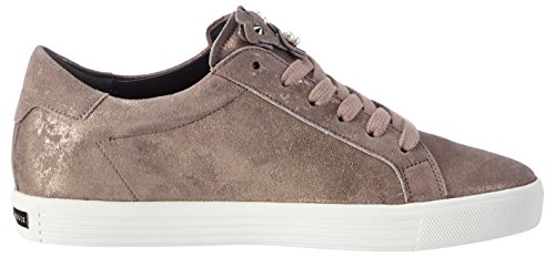 Kennel und Schmenger Schuhmanufaktur Damen Town Sneaker Braun (Rosewood/Pearl Sohle Weiss)