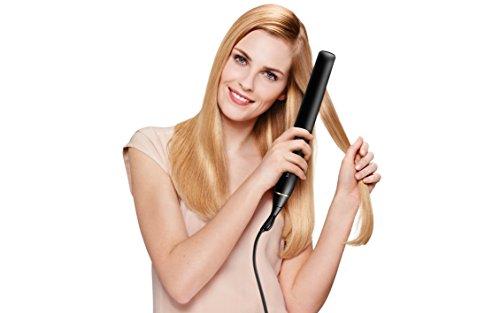 Philips HPS930/00 - Plancha de pelo profesional con planchas flotantes extra largas de titanio, ionizador y calentamiento en 10 segundos. Control digital de la temperatura hasta 230º
