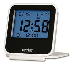 Acctim 14472 Ora Alarm Clock, White