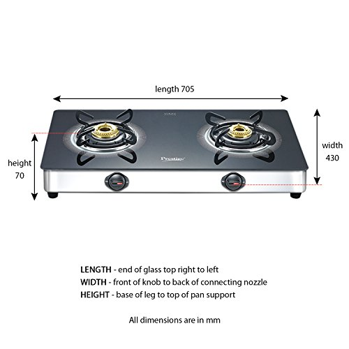 28 Off On Prestige Royale Plus Stainless Steel 2 Burner Gas Stove Black 40082 On Amazon Paisawapas Com