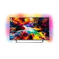 "Philips 50PUS7303/62 4K Ultra HD Android TV 3 taraflı Ambilight LED TV (127 cm (50""), 3840 x 2160 piksel, LED, Smart TV, Wi-Fi, Ambilight, Gümüş)"