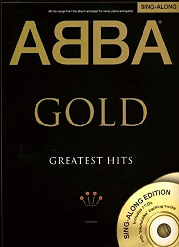 Abba Gold Greatest Hits Singalong Pvg (Book And 2 Cds) Book/2Cd (Book & Cds)