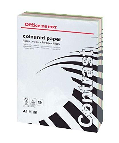 office-depot-contrast-farbiger-kopierkarton-din-a4-160-g-m-farbig-sortiert-250-blatt