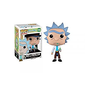 Funko Pop Morty con la Pistola de Portales (Rick & Morty 114) Funko Pop Rick & Morty