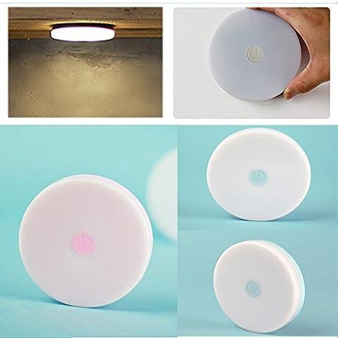 Fuson Sensor LED Lumière de nuit sans fil à LED Lumière de nuit pour enfants Veilleuse LED décoratifs