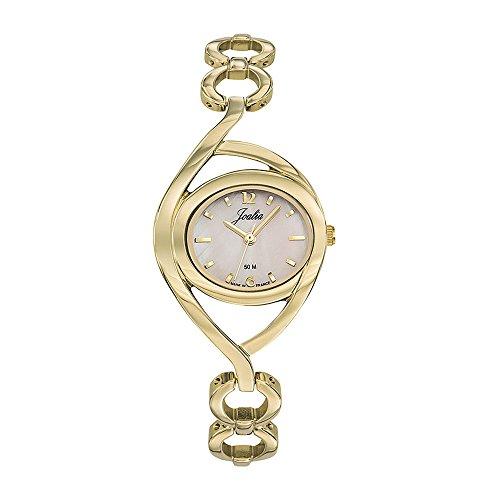 Joalia Femme Analogique Quartz Montre avec Bracelet en Laiton 630528