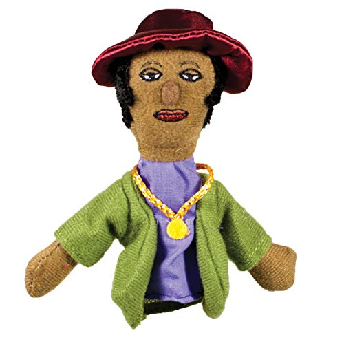 The Unemployed Philosophers Guild Zora Neale Hurston Finger Puppet and Refrigerator Magnet - for Kids and Adults