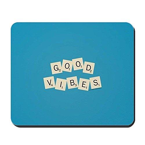 Alfombrilla ratón Juegos Scrabble Good Vibes Nonslip