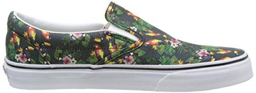 Vans Authentic, Sneakers Basses Mixte Adulte Multicolore (Chambray/Parrot/True White)