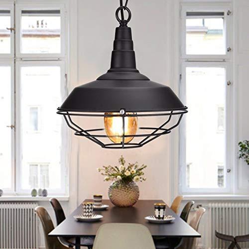 WSYYWD Retro Industrielle Rustikale Deckeneinbauleuchte Metall Leuchte Amerikanischen Landhausstil Retro Beleuchtung Schwarz 26x14.5cm