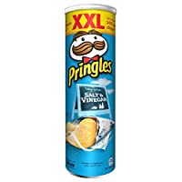 Pringles Salt & Vinegar Flavored Chips, 200 gm