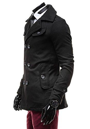 BOLF - Manteau classique – PPM 8853 - Homme Noir_906