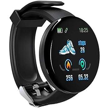 Staywe IP65 Pulsera Inteligente Unisex Casual Multifuncional con Forma Redonda Bluetooth Smartwatches