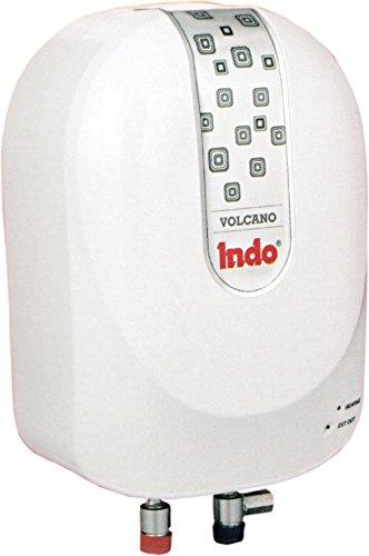 Indo 3 L Instant Water Geyser 3000 W (White, Volcano)