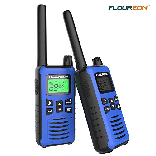 FLOUREON Ricetrasmittente per Adulti Bambini, Walkie Talkies Ricaricabile Interphone 2 Vie Radio...