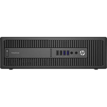 HP EliteDesk800 G1 SFF - Ordenador de sobremesa (Intel Core I5-4570 3.2 GHz, 8GB de RAM, Disco SSD 240GB, Lector DVD, Windows 10 Pro) Negro (Reacondicionado ...