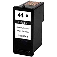 Prestige Cartridge Lexmark No. 44x L cartuchos de tinta compatible con Impresora Lexmark X4800, X4850, X4875, X4950, X4975, X4975ve, X6570, X6575, X7550, X7675, X9350, X9575, P350, Z1520, color negro 1