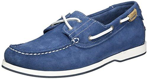 Wrangler Ocean Suede Herren Bootsschuhe Blau (Jeans)