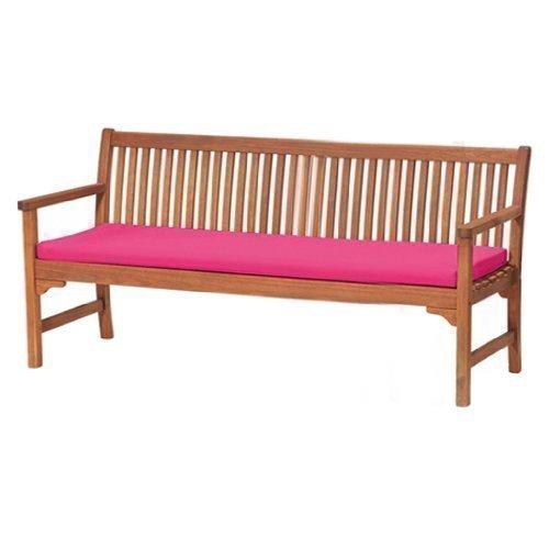 gardenista wasserabweisend 4er Garden Bench Pad, Pink
