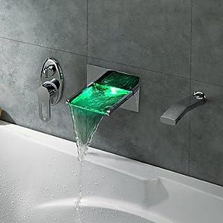 AiMi- SNOHOMISH - Wasserfall-Duscharmatur / Einhebel / LED