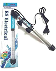 NEW HORIZON AQUARIUM ACCESSORIES RS Electrical 150 Watts Fully Automatic Glass Heater with Standby Light Indicator and Auto on and Off Facility
