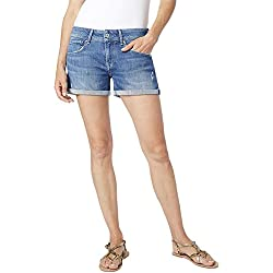 Pepe Jeans PL800685GQ2 Shorts Mujeres Azul 25