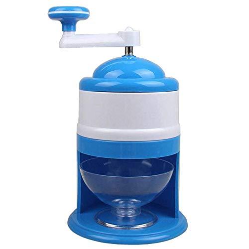 xinxun Handkurbel Eiscrusher manuell Eismaschine, Eiswürfelzerkleinerer Home Verwendung für Schnee Kegel Gefrorene Getränke Smoothie
