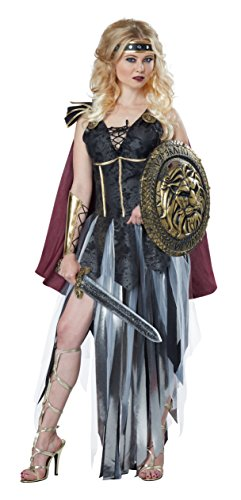 Womens Plus Size Roman Gladiator Fancy dress costume 2X (Womens Roman Gladiator Kostüm)