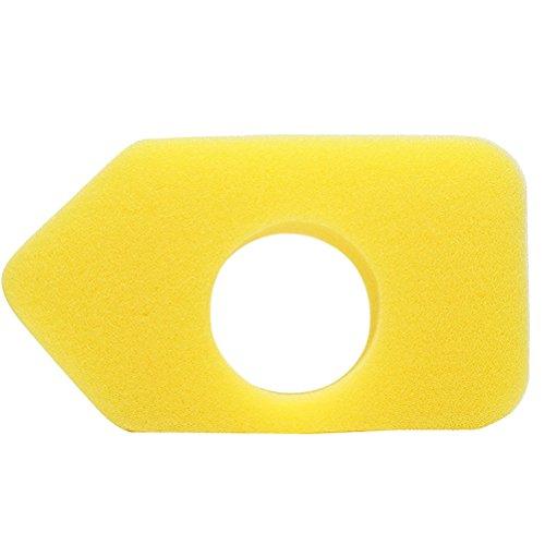 ounona Ersatz Schaumstoff-Luftfilter für Briggs Stratton 9b9009C9009d9009e9009F9009G9009h900Serie-698369(gelb) -
