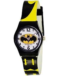 Batman BT52800-119 - Reloj analógico de cuarzo para niño, correa de plástico bicolor