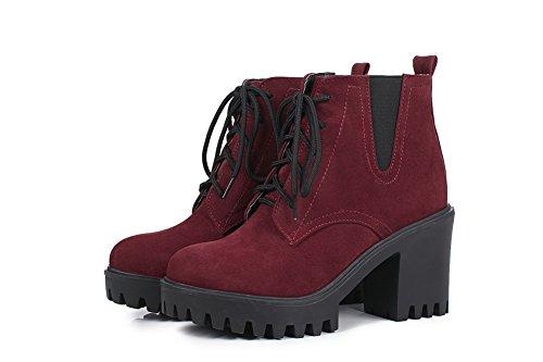 BalaMasa Abl10478, Sandales Compensées femme red