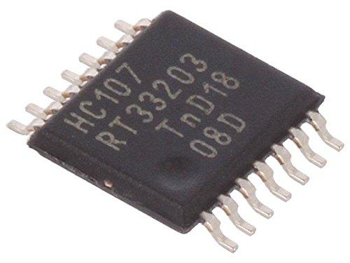 6x 74HC107PW.112 IC digital JK flip-flop Channels2 Inputs4 HC SMD TSSOP14