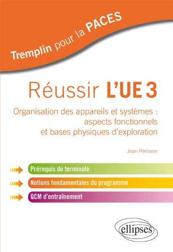 Russir l'UE3 Organisation des Appareils et Systemes : Aspects Fonctionnels et Bases Physiques d'Exploration Prrequis de Terminale