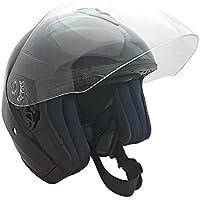 KEN ROD Casco para Moto | Jet Casco Sprint | Casco de Motocicleta Abierto | Casco