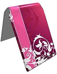Stray Decor (Floral Pnk) Étui à Cartes / Porte-Cartes pour Titres de Transport, Passe d'autobus, Cartes de Crédit, Navigo Pass, Passe Navigo et Moneo