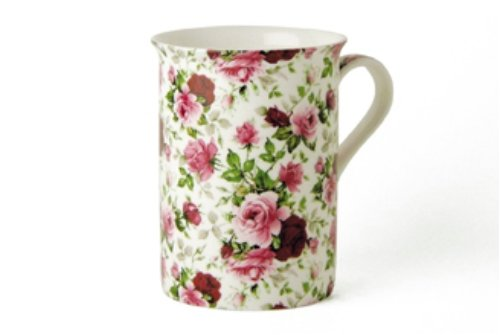 Maxwell & Williams S56858 Royal Old England Becher, Kaffeebecher, Tasse, Motiv: Rosenknospe, in...