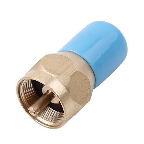 CanVivi Propan Refill Adapter Gas Zylinder Tank Kupplung Messing Regelventil - Propan-tank-refill