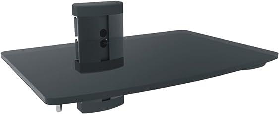 Red Eagle 360 Glasregal Wandregal 5mm für Hifi Geräte Blu-ray DVD Player bis 10kg