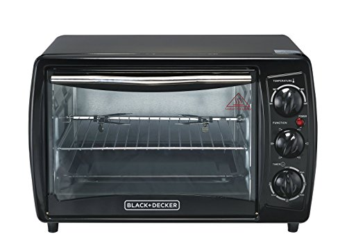 Black & Decker TRO2000R 19-Litre Toaster Oven with Rotisserie