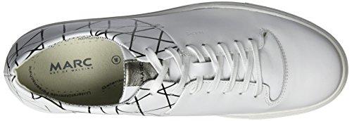 Marc Shoes Charlie, Derby homme Weiß (Weiß 207)