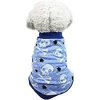 Halloween Mascotas suéter Invierno Perro Traje Caliente Ropa de Abrigo Gusspower