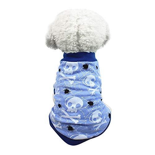 Niedliche Pet T Shirts, Haustier Pullover Halloween Welpen Kostüm Doggy Kleidung für Kleine ()