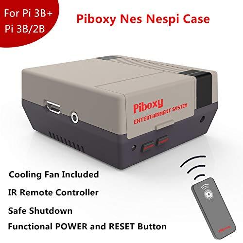 MakerFun - Funda Piboxy NES Ventilador botón reinicio