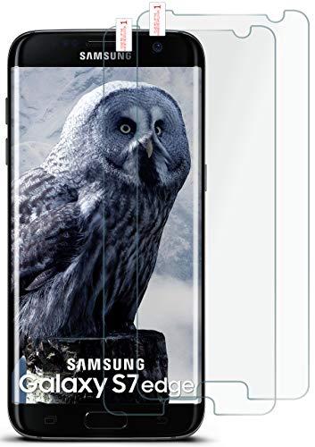 moex 2X 9H Panzerfolie für Samsung Galaxy S7 Edge   Panzerglas Display Glasfolie [Tempered Glass] Screen Protector Glas Displayschutz-Folie für Samsung Galaxy S7 Edge Schutzfolie -