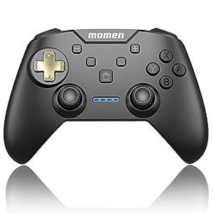 momen Nintendo Switch Controller,Wireless Switch Pro Controller Mit Wiederaufladbarer Akku,Mit 6-Achsen Somatosensory…