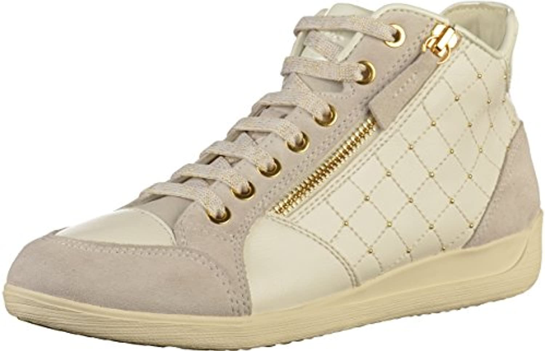 Geox Damen D Myria C Hohe Sneaker
