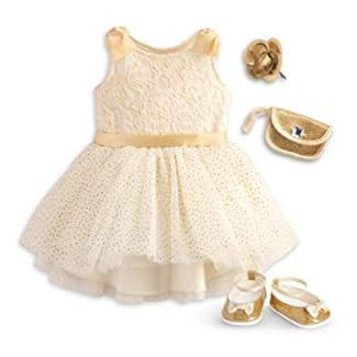 American Girl - Gorgeous Gold Outfit for Dolls - Truly Me 2015 by American Girl