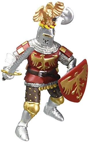 Papo 39361 - Cavaliere Rosso con Elmo Dell'Aquila