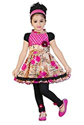 Awsome Designer Printed Frock and Capri Set (5-6 Years)